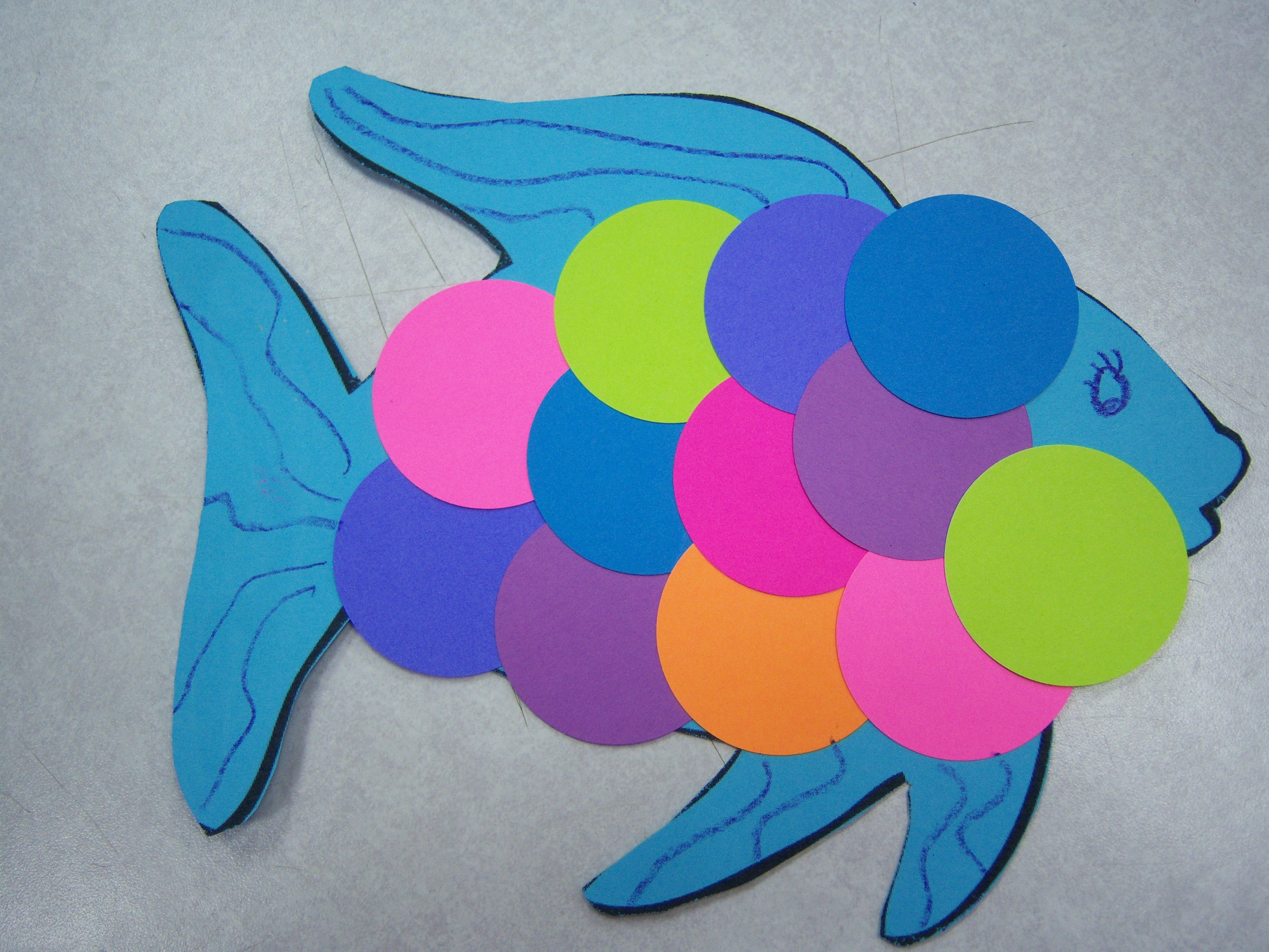 Color storytimes storytime katie for Colour paper craft