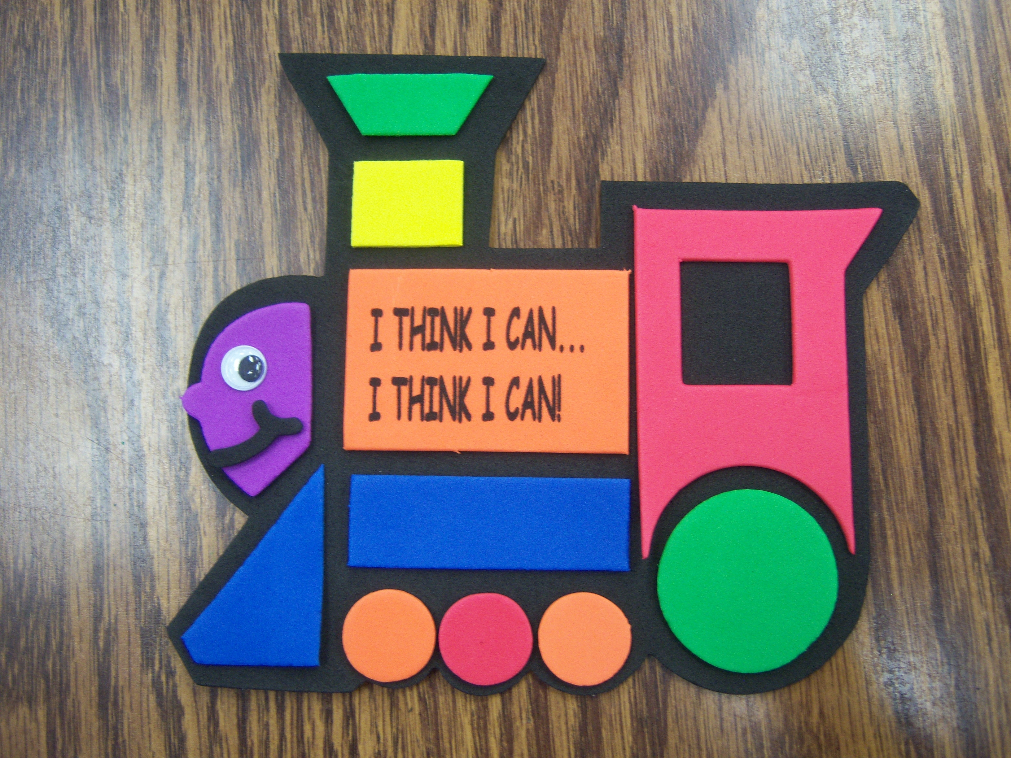 Train Craft For Toddlers