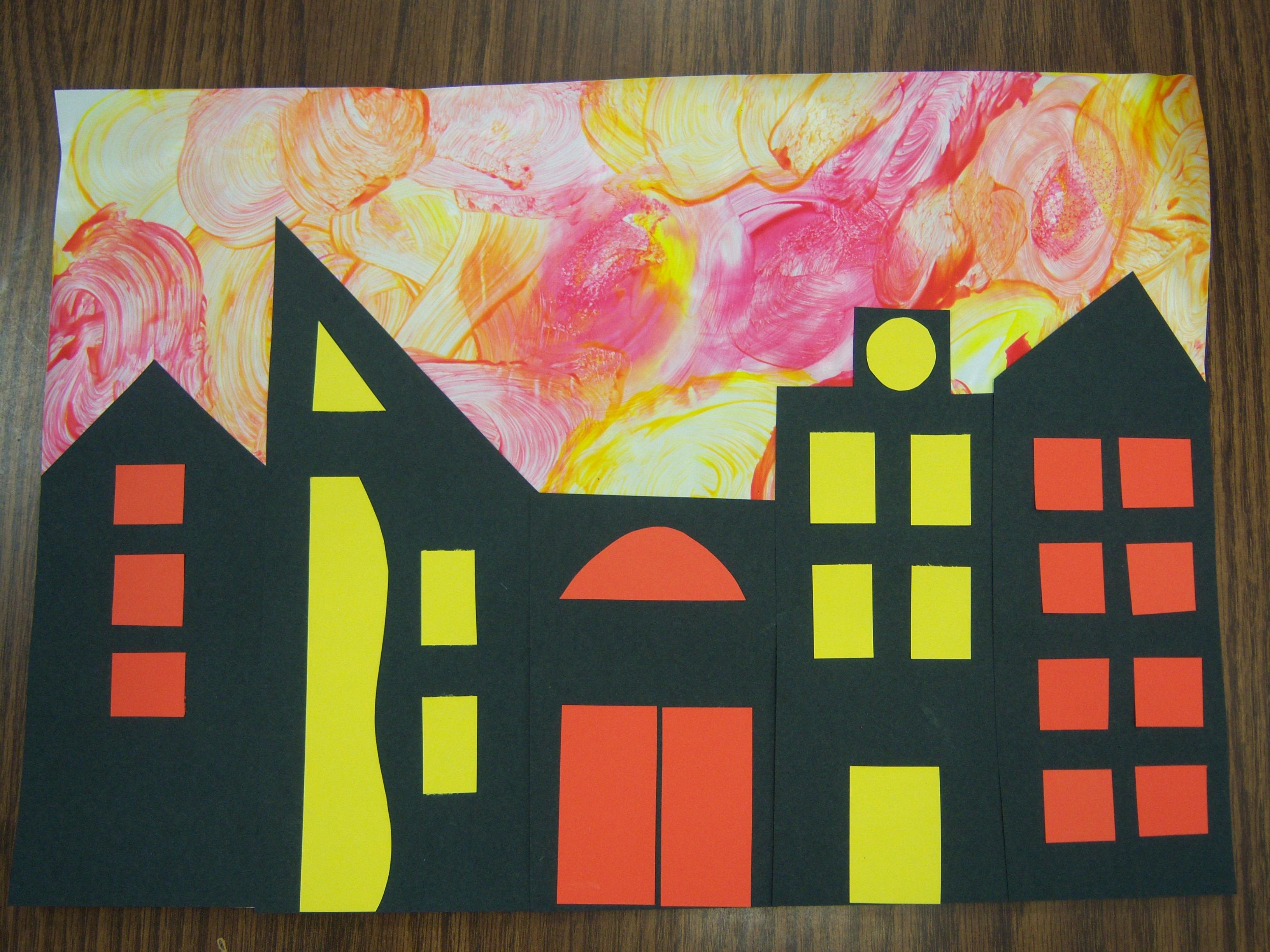 City Crafts For Preschoolers