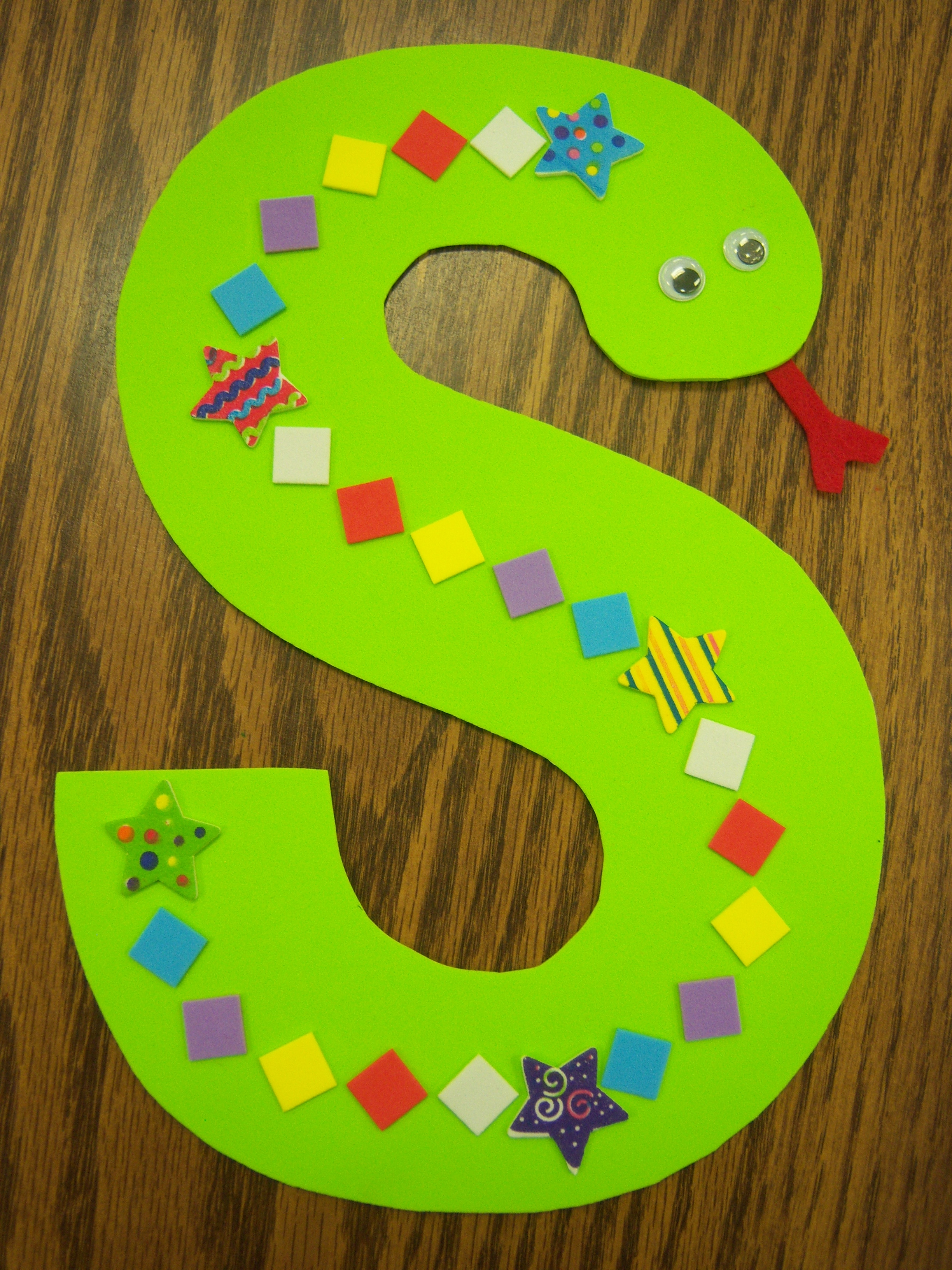 Letter s arts and crafts for preschoolers - Arts And Crafts Letters Arts And Crafts Letters 10