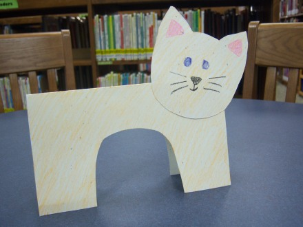Cats storytime katie for Cat art and craft