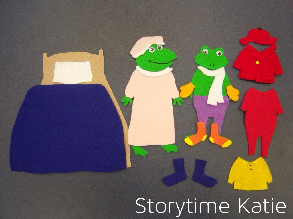 Flannel Friday: Froggy Gets Dressed – storytime katie