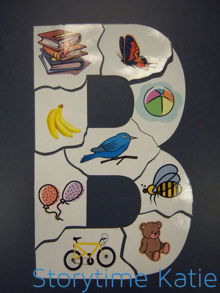 cut out letter b cardboard ea supplies december 2013 storytime 680