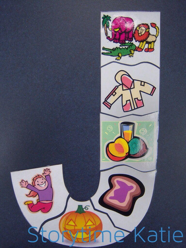 letter j art projects for preschoolers flannel friday complete letter puzzles storytime 557
