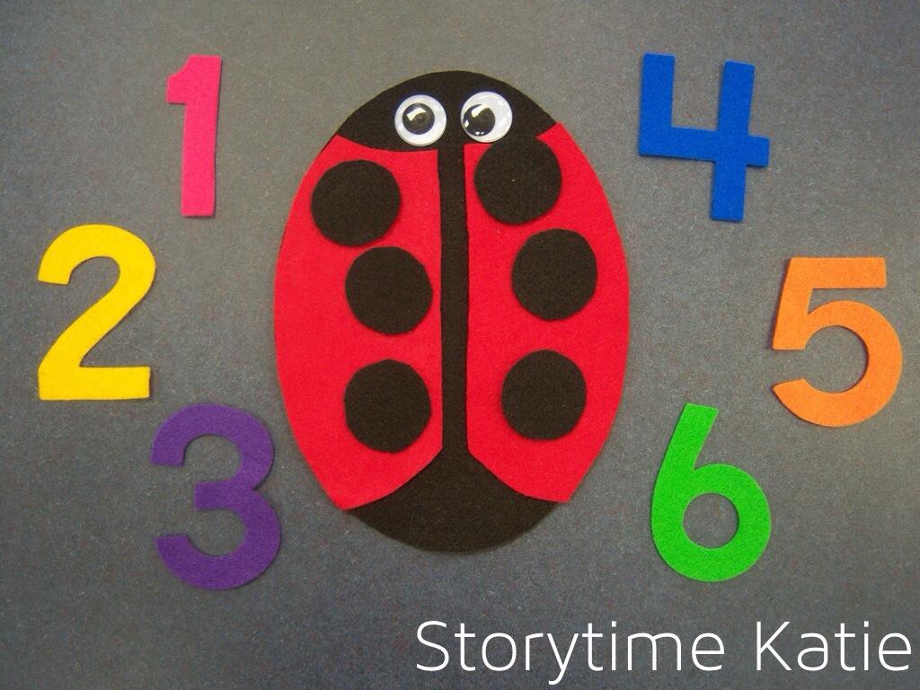 flannel friday pretty ladybugs u2013 storytime katie