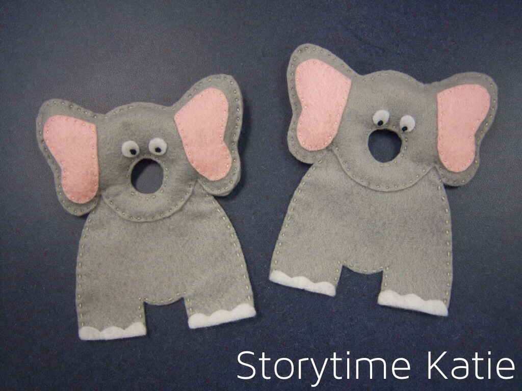 Flannel Friday: Two Big Elephants – storytime katie
