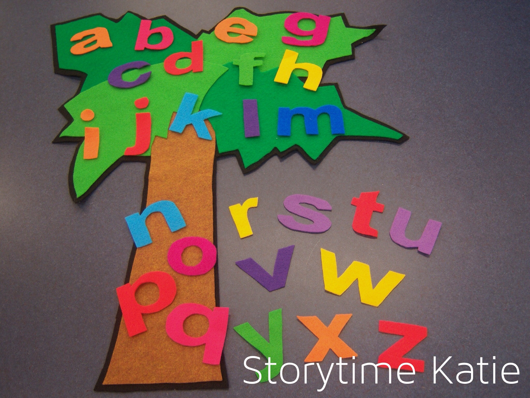 Flannel Friday: Chicka Chicka Boom Boom – storytime katie - photo#19