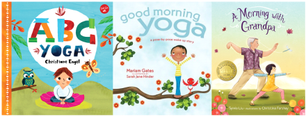 Preschoolers yoga storytime katie abc yoga by christine engel good morning yoga by mariam gates a morning with grandpa by sylvia liu altavistaventures Images